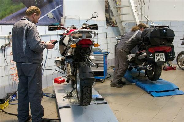 Техосмотр проводится и для мотоциклов