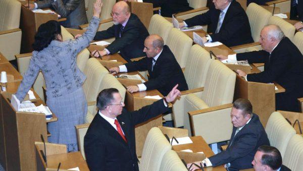 Депутаты ГД РФ обсуждают поправки к материнскому капиталу