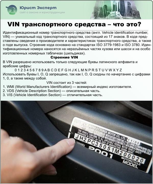 VIN транспортного средства – что это?