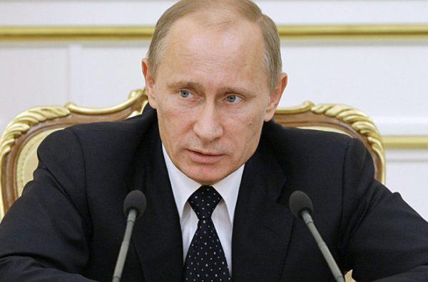 Владимир Путин рассказывает про материнский капитал