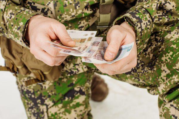 Военнослужащий считает социальные выплаты