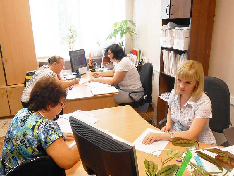 Открытие счета происходит в отделе социальных выплат