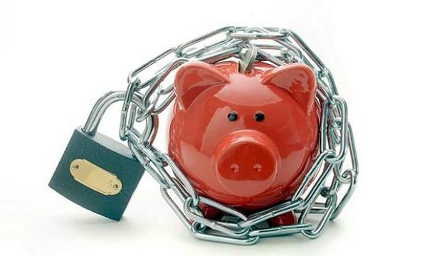Приостановление операций по счетам в банке