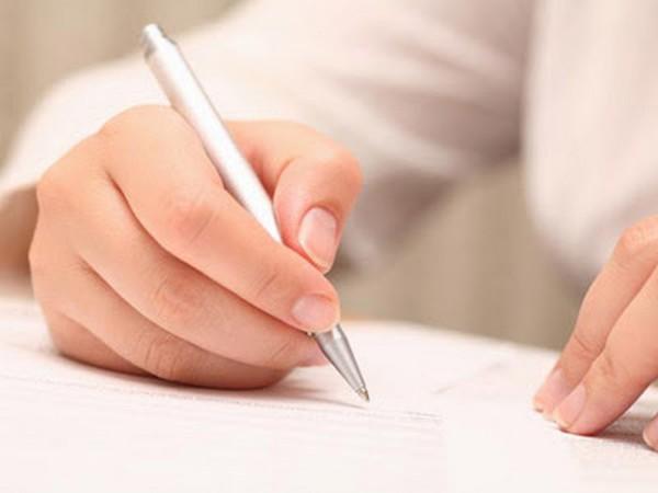 В заявлении указывают перечень прилагаемых документов