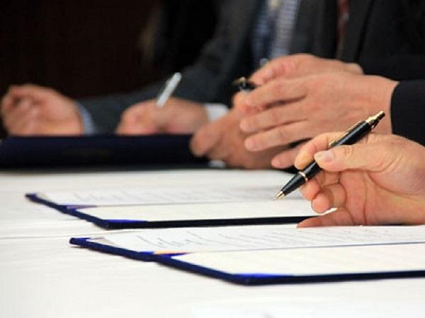 Подписание контракта производится после предоставления всей необходимой документации и внесения данных в установленную форму документа