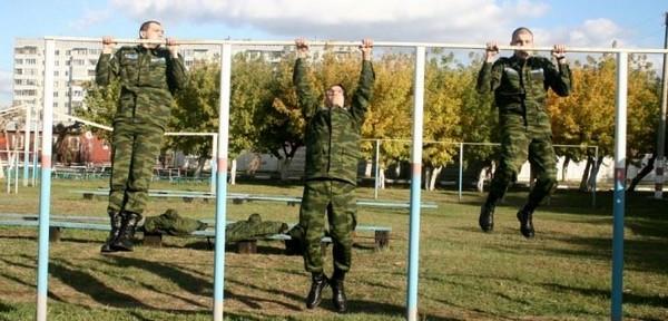 Чтобы обучаться на военной кафедре, нужно сдать нормативы физподготовки