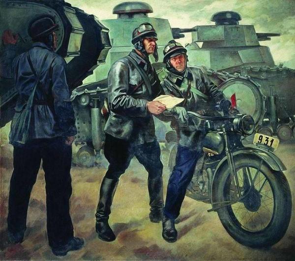 Военная подготовка существовала еще век назад