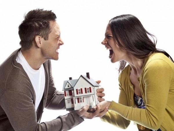 Если в доме есть несколько входов, он может быть представлен как две обособленные квартиры
