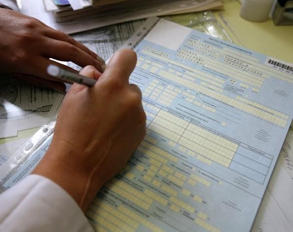 В листке нетрудоспособности указываются данные руководителя, бухгалтера
