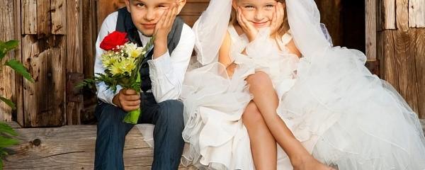 На территории России минимальный брачный возраст составляет 14 лет