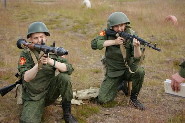 Военная подготовка является обязательной для всех призывников