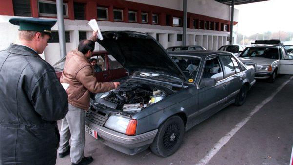 Автомобиль должен пройти таможенный контроль
