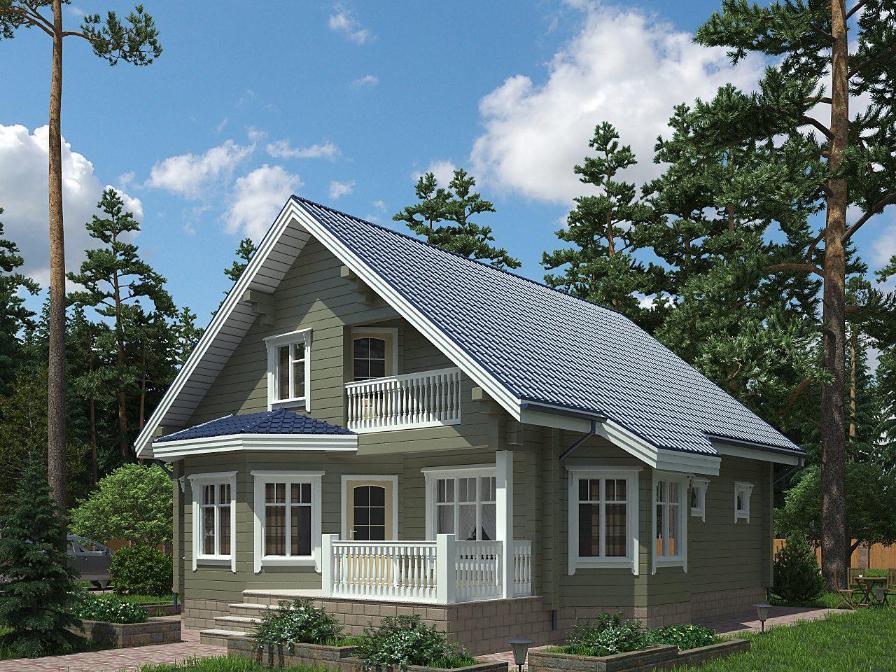 Для частных домов действует вычет в 50 квадратных метров