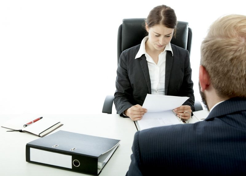 Предоставление справки в бухгалтерию