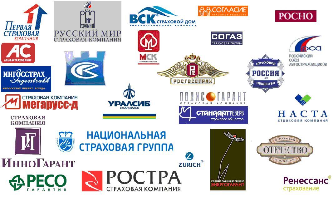 Страховые компании, предоставляющие ОСАГО и КАСКО