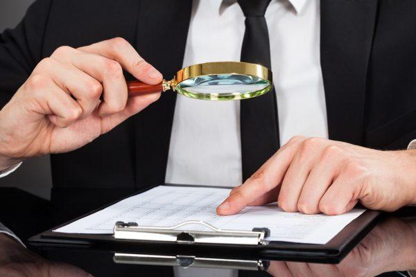 Проверка предоставленных документов
