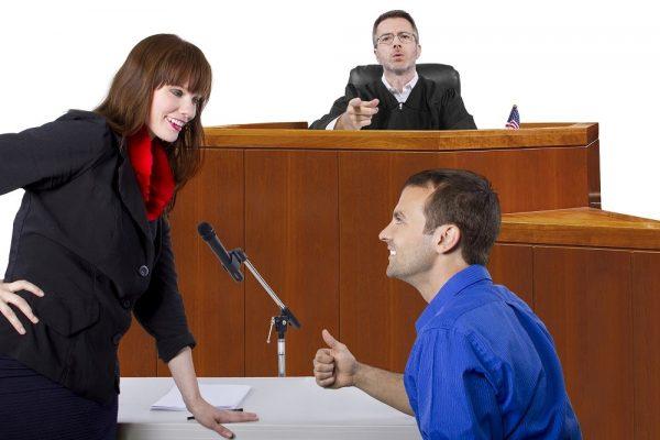 Адекватное и сдержанное поведение поможет произвести на судей положительное впечатление