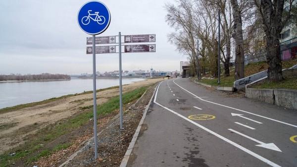 Для мопедов, автомобилей велопешеходные дорожки закрыты