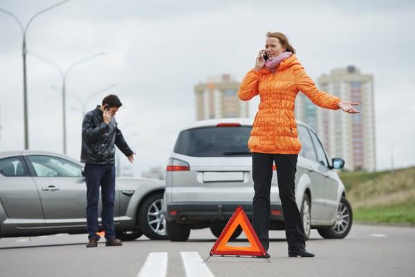 Как правило, покидать место аварии не разрешается