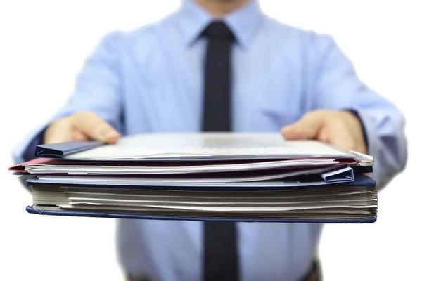 Нужно предоставить определенный пакет документов для исполнения обязанностей неплательщика