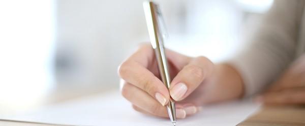 Можно написать расписку от руки, а можно распечатать