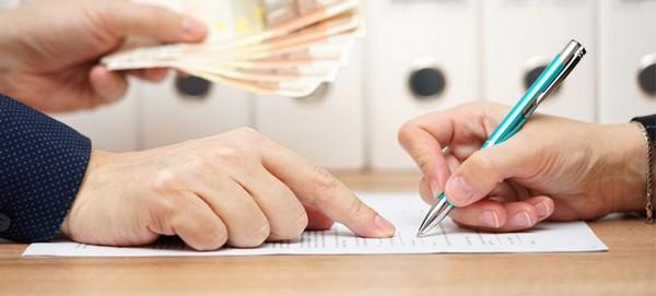 Расписка может писаться по финансовым обязательствам