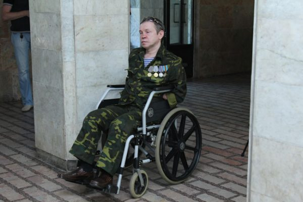 Инвалид Чеченской войны