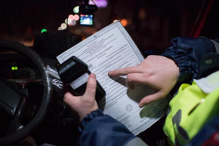 Перед освидетельствованием инспектор составляет протокол