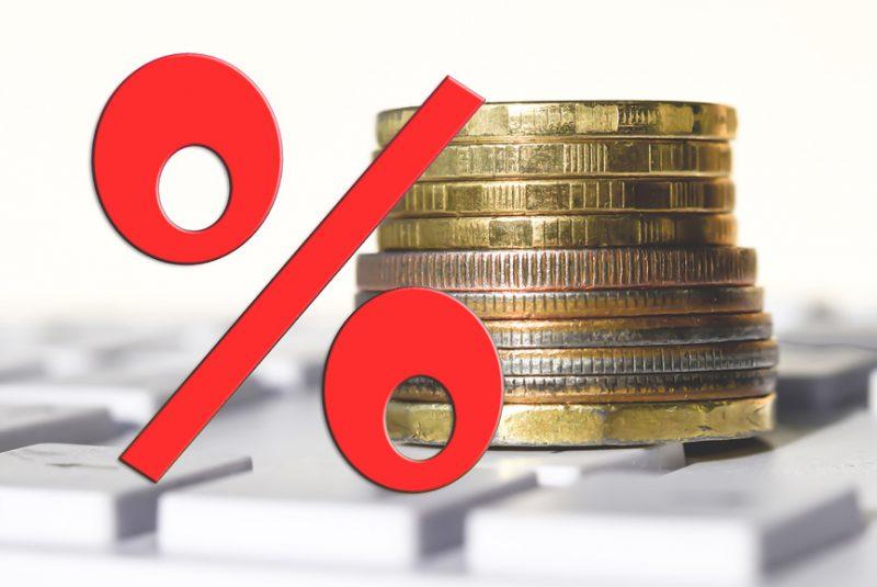 Увеличение ставки приводит к увеличению налога и наоборот