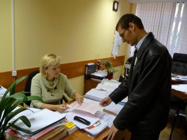 Передача документов одним из доступных способов