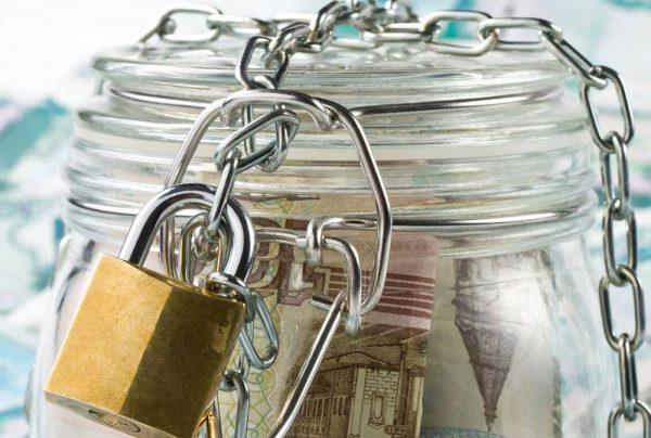Наложение ареста на банковские счета