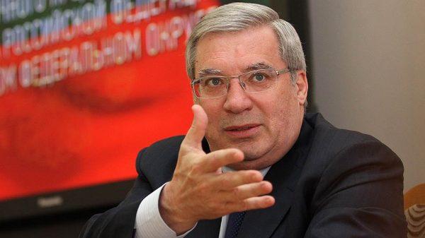 Виктор Толоконский - бывший глава Новосибирской области и Красноярского края