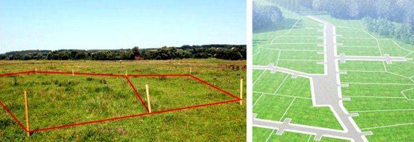 Сроки разработки проекта межевания зависят от площади объекта
