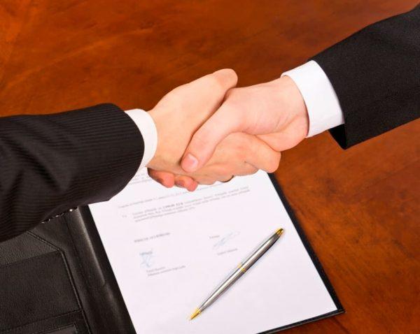 Подписание соглашения о передаче права собственности на автомобиль