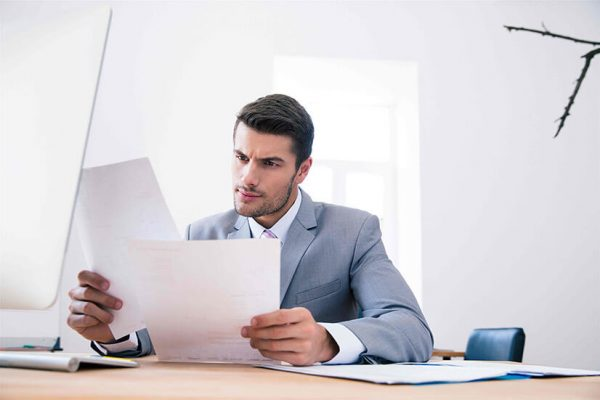 Изучение документа и принятие необходимых мер